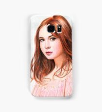 Amy Pond - Karen Gillan from Doctor Who saga Samsung Galaxy Case/Skin