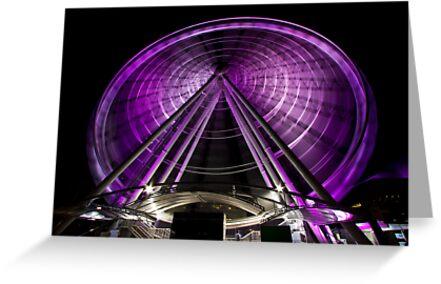 The Brisbane Wheel by Ian Fraser