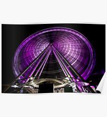 The Brisbane Wheel Poster