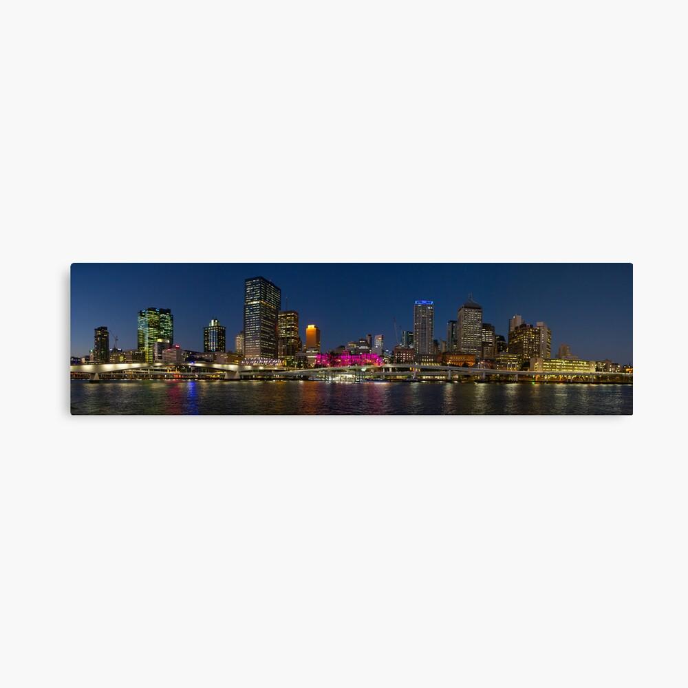 Purple Brisbane Canvas Print