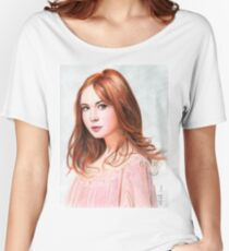 Amy Pond - Karen Gillan from Doctor Who saga Women's Relaxed Fit T-Shirt