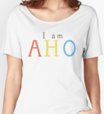 Yuru Yuri: I am AHO Women's Relaxed Fit T-Shirt