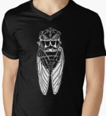 Cicada-back Men's V-Neck T-Shirt