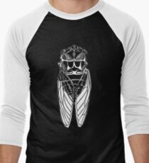 Cicada-front Men's Baseball ¾ T-Shirt