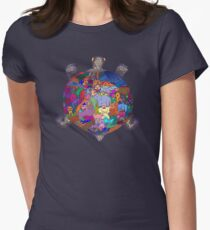 Turtle Tattoo Women's Fitted T-Shirt