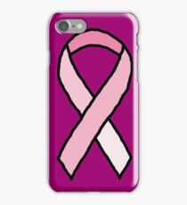 Breast Cancer Ribbon iPhone Case/Skin