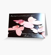 Kisses from Heaven on Mother's Day  Greeting Card