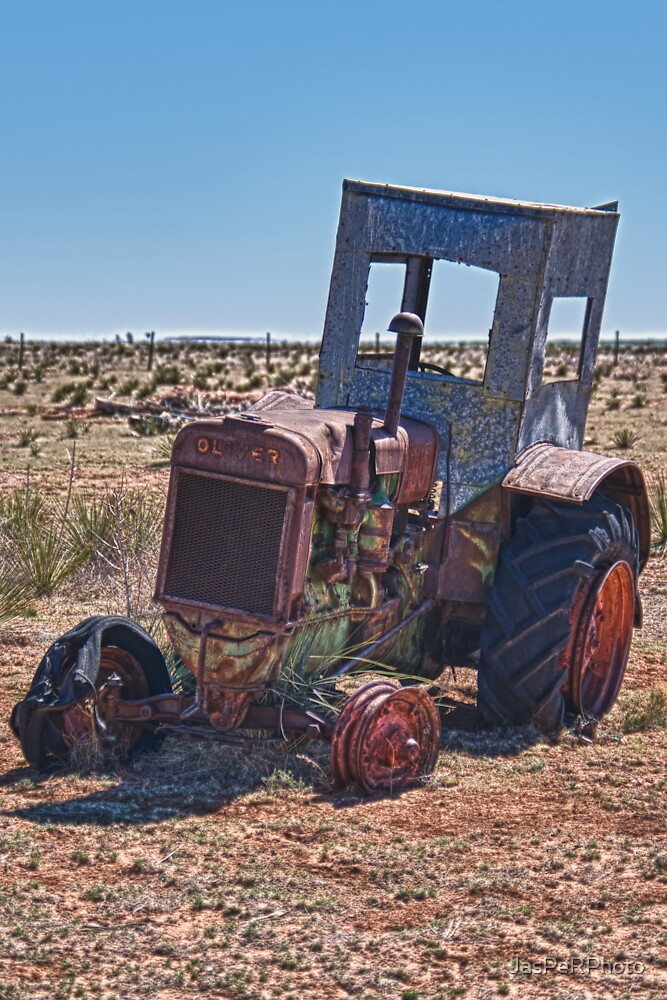 New Mexico Tractor by JasPeRPhoto