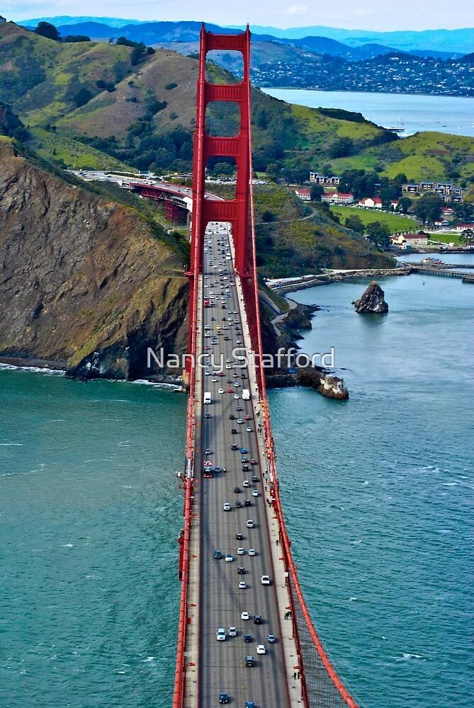 Golden Gate Bridge by Nancy Stafford