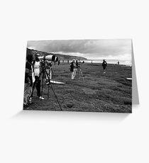 Surf Photographers Greeting Card