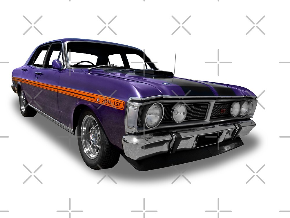 Ford - 1971 XY GT Fairmont Sedan by axemangraphics