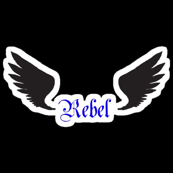 "Team Free Will- Cas ""Rebel""  by sweetangelbutts"