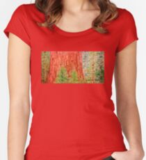 California Redwood Women's Fitted Scoop T-Shirt