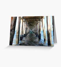 Point Lonsdale Pier - Victoria, Australia Greeting Card