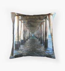 Point Lonsdale Pier - Victoria, Australia Throw Pillow