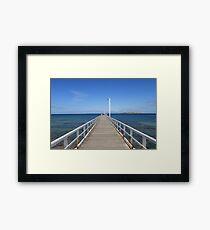 Point Lonsdale Pier - Victoria, Australia Framed Print