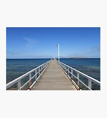 Point Lonsdale Pier - Victoria, Australia Photographic Print