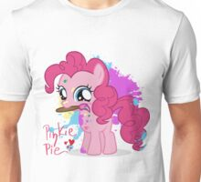 Pinkie Pie Color Splatter Unisex T-Shirt