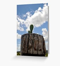 Prickly Pear Post Greeting Card