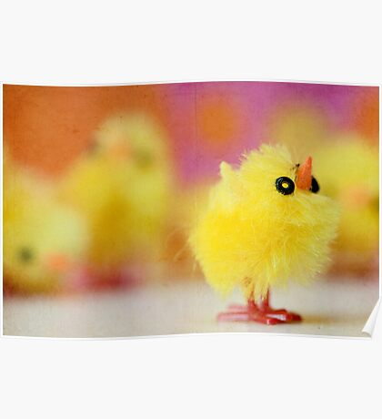 Easter Chicky Babe Poster