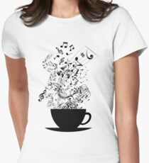 Cup of Music Women's Fitted T-Shirt