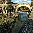 The Roman Bridge by hans p olsen