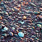 Washed Stones at Sunset - Waterville, Co. Kerry by AlanJLanders