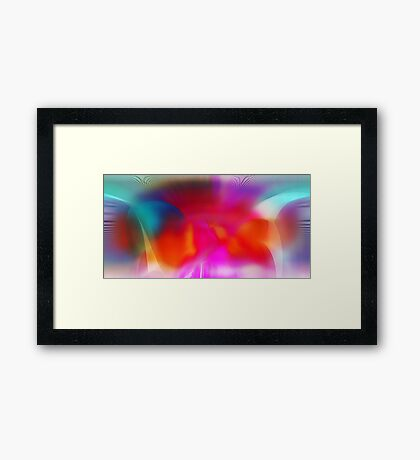 Phase Shifting Framed Print