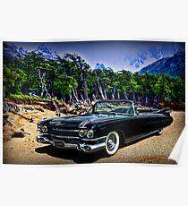 1959 Cadillac Eldorado Biarritz Convertible Poster
