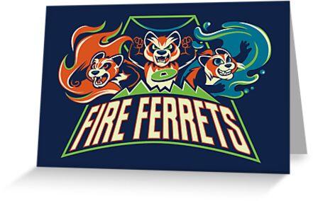 Fire Ferrets! by Kari Fry