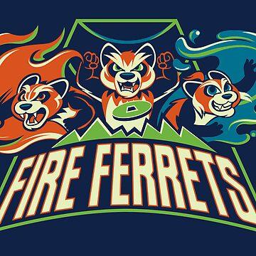 Fire Ferrets! by misskari