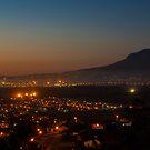 Gordons bay at night by Rudi Venter