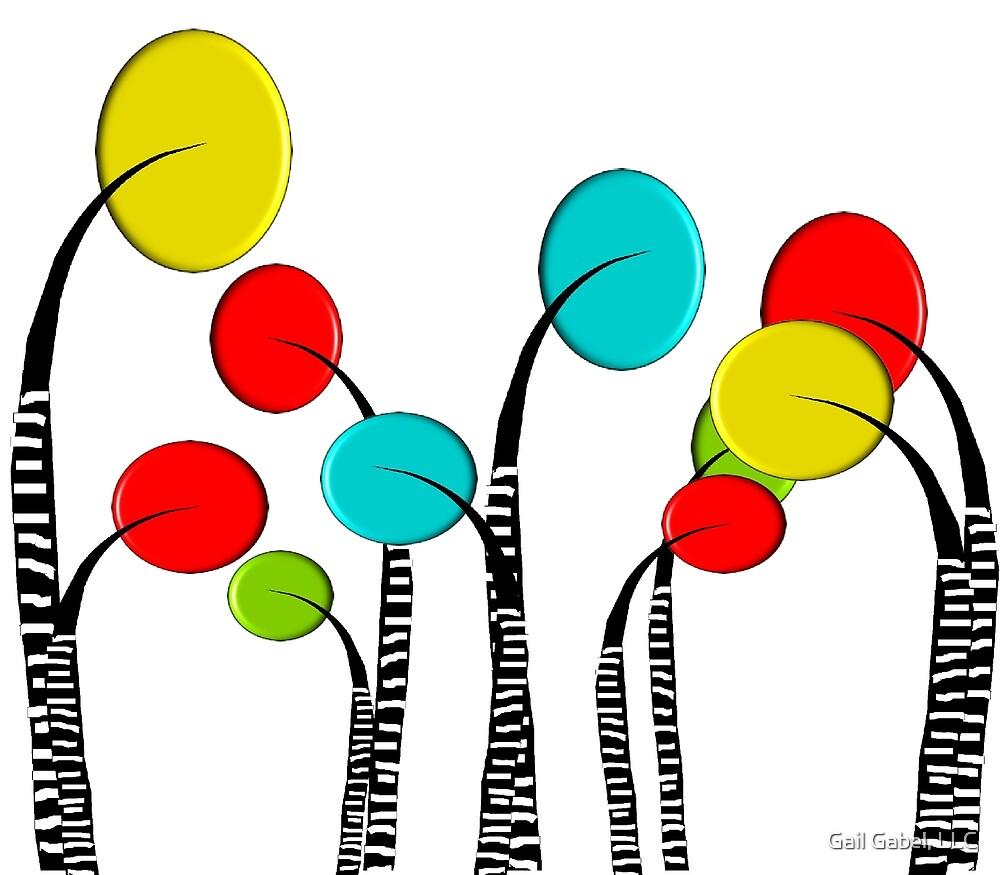 Whimsical Trees by Gail Gabel, LLC