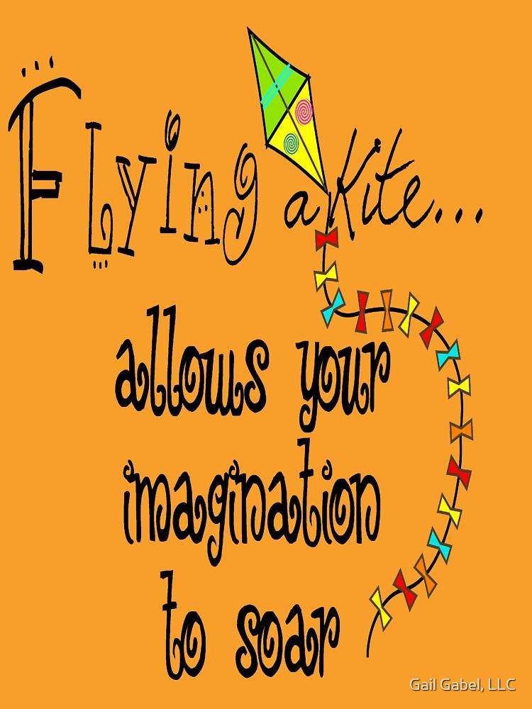 Kite Flying Hoodie by gailg1957