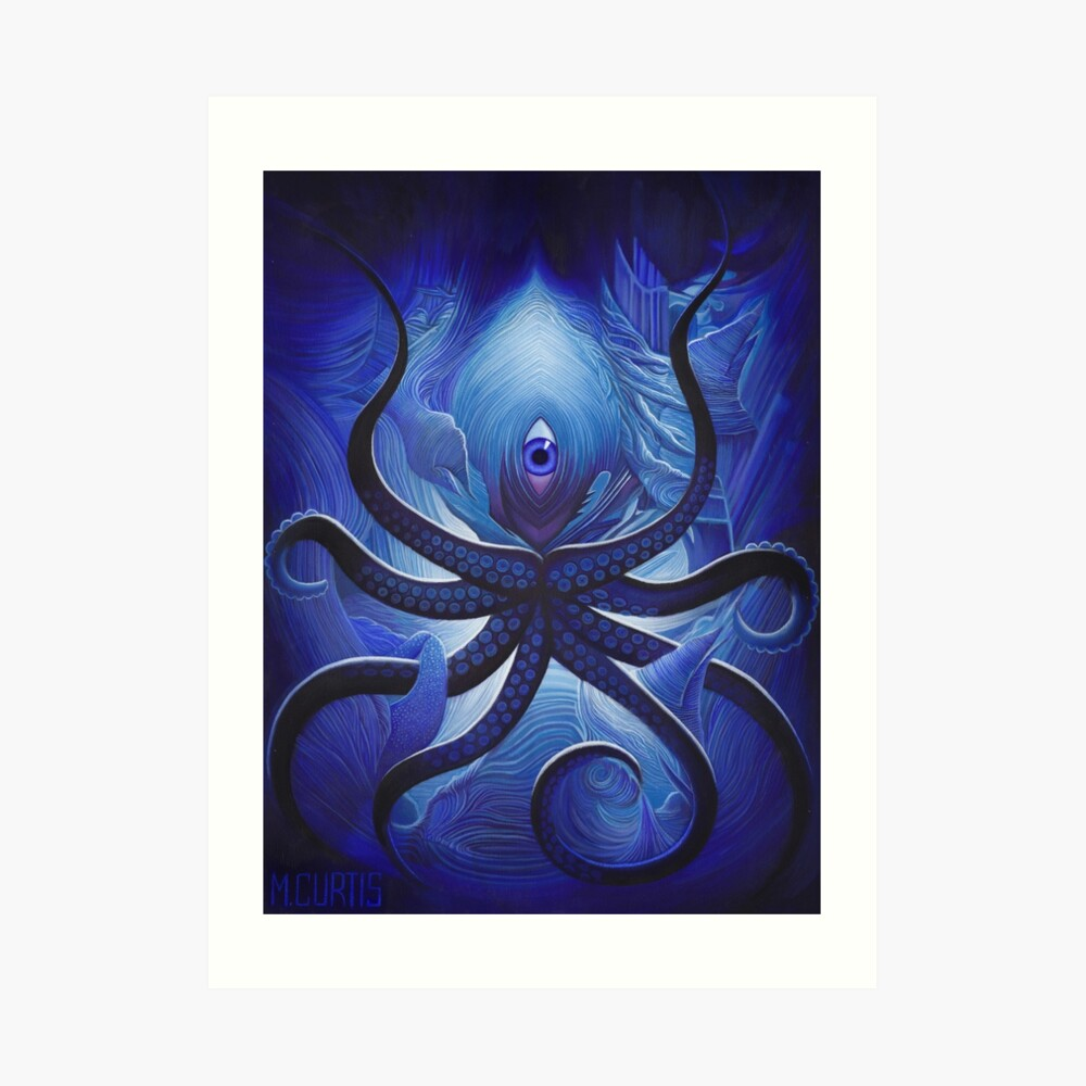 Cycloptopus Art Print