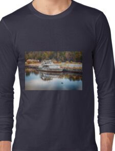 Old Sinking Boat Long Sleeve T-Shirt