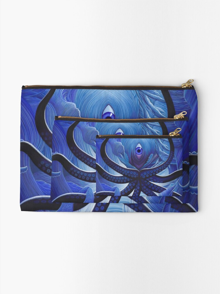Alternate view of Cycloptopus Zipper Pouch