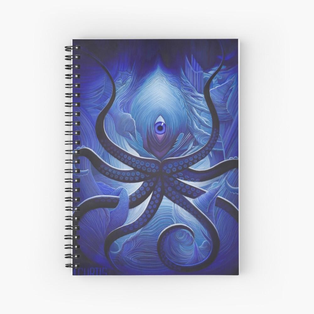 Cycloptopus Spiral Notebook