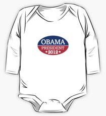 Obama President 2012 One Piece - Long Sleeve