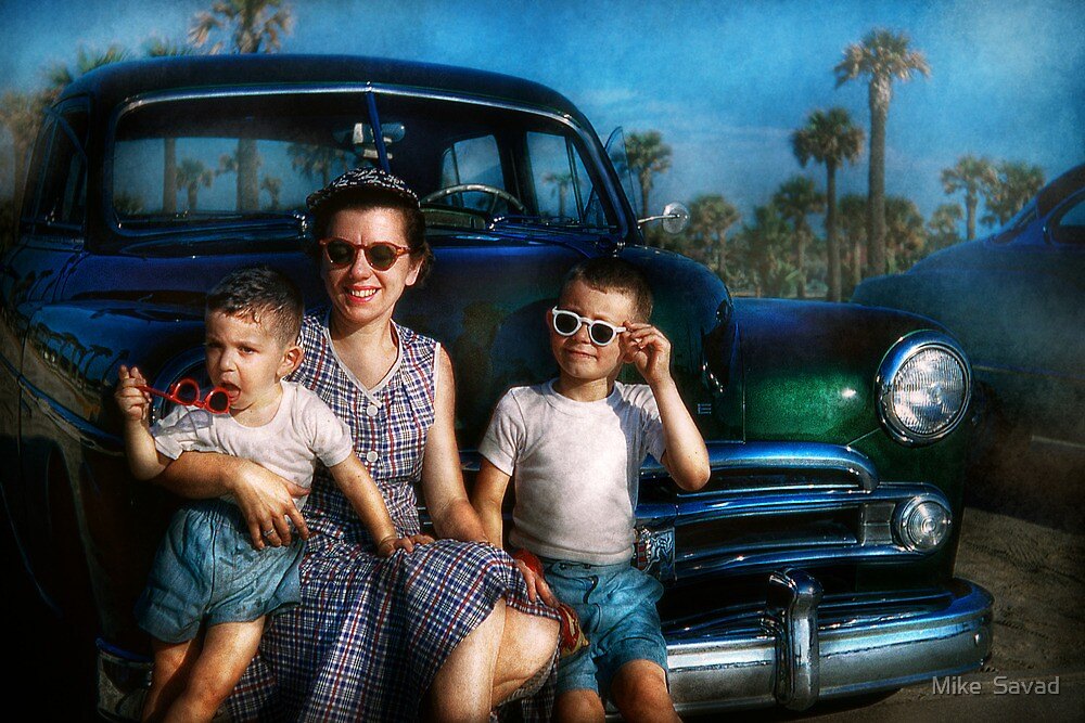 Americana - Car - The classic american vacation by Michael Savad