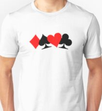 Poker cards Unisex T-Shirt