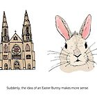 Origin of the Easter Bunny by KateOberg