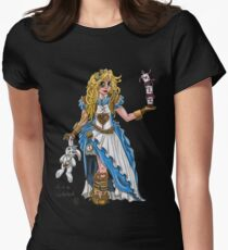 Alice in Wonderland - Steampunk style Women's Fitted T-Shirt