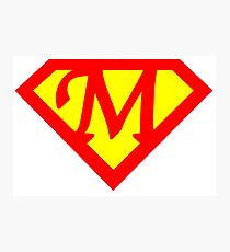 Super M Logo Photographic Print