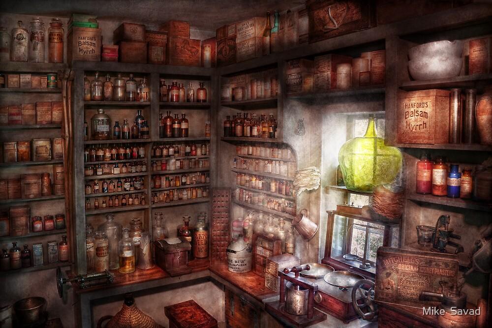 Pharmacy - Equipment - Merlin's Study by Michael Savad