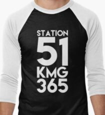 KMG365 Men's Baseball ¾ T-Shirt