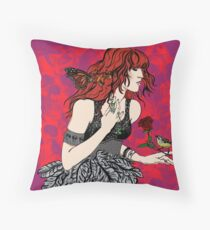 'Once upon a time there was Florence' (2) Throw Pillow