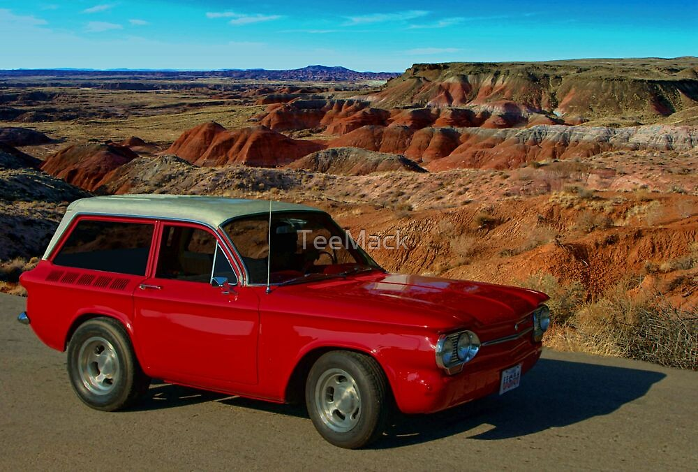 1963 Chevrolet Corvair Shorty Station Wagon  by TeeMack