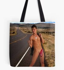 Hitchhiker Tote Bag
