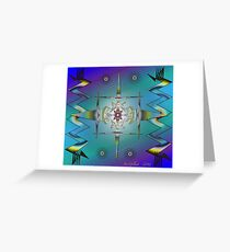 Tribal Inspiration Greeting Card